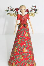GISELA GRAHAM CHRISTMAS DELLAROBBIA TREE TOP FAIRY/ ANGEL SMALL