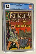 FANTASTIC 4 FOUR #48 Marvel Comics 1966 CGC 4.5 SILVER SURFER 1st Appearance
