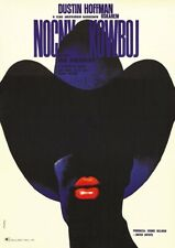MIDNIGHT COWBOY 1969 Polish – John Schlesinger – Movie Cinema Poster Art