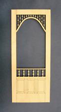 Dollhouse Miniature 1:12 Scale Screen Door