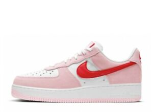 """NIKE AIR FORCE 1 '07 """"VALENTINE'S DAY"""" DD3384-600 authentic From Japan"""