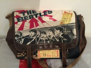 THE BEATLES MESSENGER BAG - TICKET TO RIDE - APPLE CORPS 2010 - VERY RARE