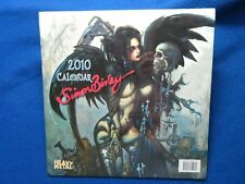 SIMON BISLEY  2010 CALENDAR FROM HEAVY METAL   NEW  SEALED   HARD TO FIND