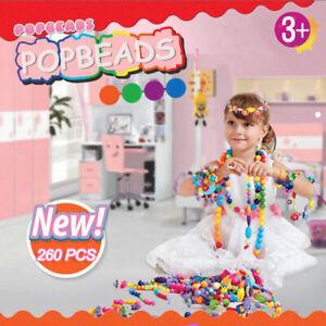 Pop Beads Girls Toys DIY Jewelry Making Kit for Girls Kids Making Necklace Ring
