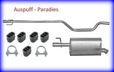 Abgasanlage Auspuffanlage Auspuff Schalldämpfer für Opel Meriva A 1.7 DTi + Kit
