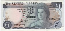 More details for 1976-88 jersey one pound note   pennies2pounds