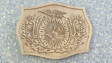 Buckle Future Farmers of America Ffa Agricultural Education Brass Belt