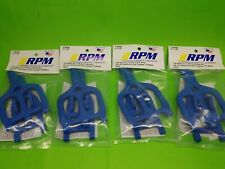 4 pack RPM 80465 Front Rear Blue Suspension Arms Traxxas 2.5 3.3 T-maxx Emaxx