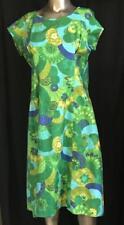Vintage Exotical Hawaiian Dress Size M See Measurements # 062429