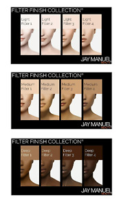 JAY MANUEL Beauty Filter Finish Collection Skin Perfector Foundation U PICK New