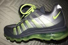 Nike Air Max 95 360 GS Big Kids 512169-003 Grey Volt Running Shoes. Sz- 7Y..2012