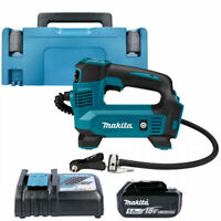 Makita DMP180RT1J 18V LXT Inflator With 1 x 5.0Ah Battery, Charger & Type 2 Case