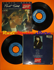 LP 45 7'' ROBIN BECK First time 1988 france MERCURY COCA COLA cd mc dvd