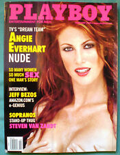PLAYBOY FEB 2000 ANGIE EVERHART, SUZANNE STOKES
