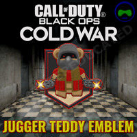 Call of Duty Black Ops Cold War KontrolFreek Jugger Teddy Animated Emblem DLC 🧸