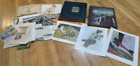 Vintage Naval Ship and Aviation Scrapbooks Wartime and Mid Century Antique set 2