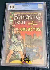 Fantastic Four #48 CGC 1.0 1966 1st appearwnce Silver Surfer Galactus Cameo Key!