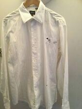 Men's White Gstar  Shirt size XL  Used Good condition