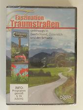 DVD Faszination Traumstraßen Deutschland Österreich Schweiz Neu originalverpackt