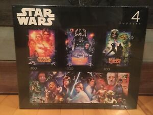 Buffalo Star Wars Original Trilogy Empire Strikes Back Return Jedi Puzzle 4 Pack