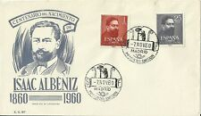 Spain 1960 First Day Cover - Isaac Albeniz