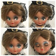 """Vintage Doll Googly Eyes Linda Pirula Munecas De Alba 10"""""""