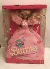 Happy Birthday 1990 Barbie Doll NRFB #7913