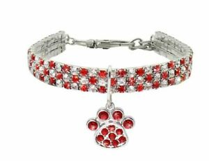 Rhinestone collar for pets
