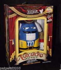 Nutcracker Sweet M&Ms M&M's  Christmas Holiday Chocolate Candy Dispenser - Blue