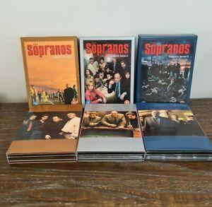 THE SOPRANOS season 3 4 & 5 special editions cardboard covers booklets Region 2