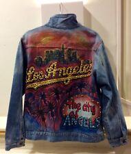 1980s One Off Customised Studded Denim Jacket M-L
