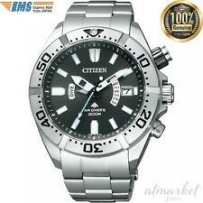 Citizen Mens PROMASTER Eco-Drive Professional Dive Watch [PMD56-3081] JAPAN EMS