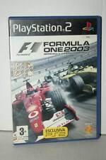 FORMULA ONE 2003 GIOCO USATO PS2 VERSIONE ITALIANA PAL VBC 39364
