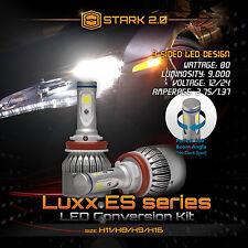 Stark 80W 9000LM Flip COB Chip LED Kit 6000K 6K Light Bulbs Fog Lights - H8