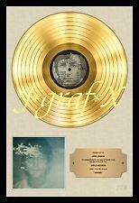 John Lennon - Imagine Gold Record - Poster Reproduction - Really Cool Artwork!