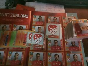 Panini Euro 2020 Tournament Edition Stickers - Pick 20 From The List Below