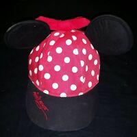 Disney Minnie Mouse Girls Baseball elastic fit Hat Cap Children Toddler