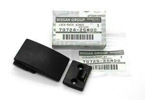 Nissan 720 D21 Pickup Genuine Rear Back Sliding Window Latch Lock & Striker OEM
