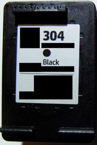Schwarz Druckerpatronen HP 304 XL für Envy 5020 5030 5032 DeskJet 3720 2630 2620
