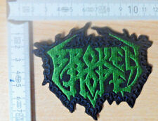 Broken Hope RARE Woven forma Patch death Cannibal Corpse Morbid Angel Obituary