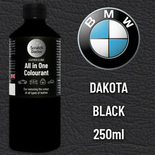 BMW DAKOTA BLACK Leather Dye Car Leather Interior Repair Restore Paint