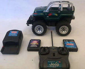 Radioshack Monster Jeep 4x4 RC X 2 Batteries Charger