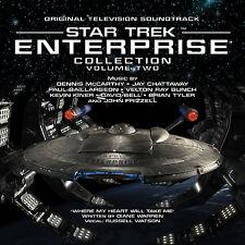 STAR TREK ENTERPRISE Volume 2 LA-LA LAND 4-CD Set McCARTHY CHATTAWAY & More MINT