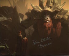 Tom Baker Photo Signed In Person - The Voice of Bendu in Star Wars Rebels - D623