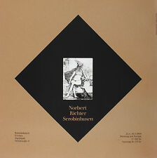 Norbert Richter Scrobinhusen. Kunstkabinett Fischer, Ingolstadt 1968