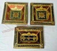 Vintage Florentia Italian Decorative Wood Craft