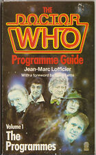 RARE: The Doctor Who Programme Guide vol 1. Original Target Books edition.