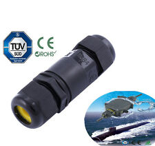 2 3 4 Pin IP68 Waterproof Electrical Cable Wire Connector 4M Depth Water M684