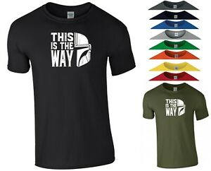 This is The Way T Shirt Mandalorian Boxing Gym Exercise Xmas Gift Men Tee Top