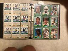 1989 Score football complete set (Sanders, Aikman, Sanders rookies) 438 set